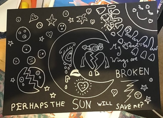 My Artwork My Heart's Wings Are Broken Perhaps The Sun Will Save Me?.jpg